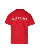 Balenciaga Medium Fit T-shirt - Rosso e Bianco