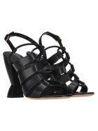 Salvatore Ferragamo Salvatore Ferragamo Sirmio X5 Sandals - BLACK