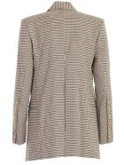 Eudon Choi Beatrice Jacket Check W/slits - Brown Check