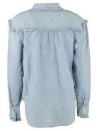 Ralph Lauren Ruffled Denim Shirt - Indigo Blu