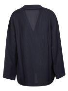 Acne Studios Double-breasted Pajama Blazer - Blue