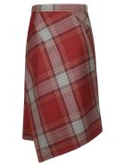 Vivienne Westwood Checked Skirt - Multicolor