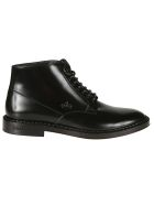 Dolce & Gabbana Boots CROWN EMBOSSED ANKLE BOOTS
