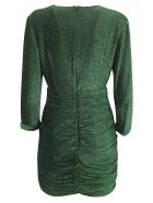 In The Mood For Love Violette Dress - Metallic Green