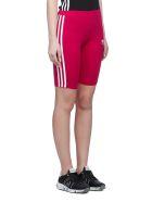 Adidas Originals Logo Shorts - Fuxia bianco