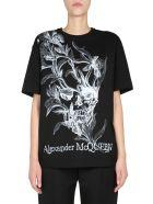 Alexander McQueen Round Neck T-shirt - NERO