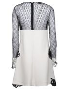Fausto Puglisi Lace Embroidered Long-sleeved Dress - Black