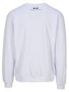 "MSGM ""profondo Rosso"" Sweatshirt - Bianco"
