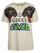 Gucci Printed T-shirt - White
