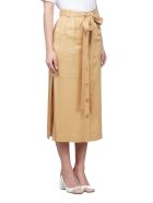 See by Chloé Buttoned Skirt - Brown