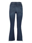 Mother Insider Crop Step Fray 5-pocket Jeans - Denim
