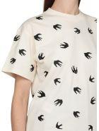 McQ Alexander McQueen Swallow Swarm T-shirt - OYSTER