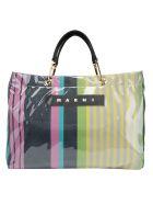 Marni Large Shopping Bag - Pink candy