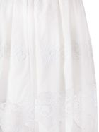 Dolce & Gabbana Lace Panel Skirt - Bianco