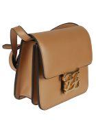 Fendi Karligraphy Shoulder Bag - Biscotto
