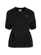 Kenzo Short Sleeve Sweatshirt - black