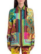 Versace Voyage Baroque Shirt - Multicolor