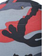 Valentino T-shirt - Camou grigio/rosso