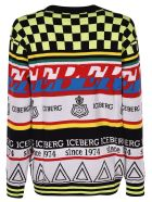 Iceberg Multipattern Logo Sweater - Multicolor