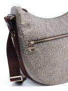 Borbonese Medium Luna Bag - Op Classico/marrone