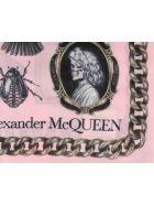 Alexander McQueen Cameo And Curiosities Shawl - Pink