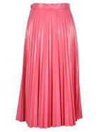MM6 Maison Margiela Mm6 Vynil Pleated Skirt - PINK