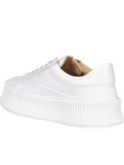 Jil Sander Platform Sneakers - Open white