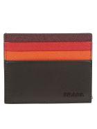 Prada Card Holder - Nero/cerise