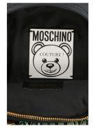 Moschino 'teddy Dollar' Bag - Black