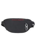 Alexander McQueen Belt Bag - Black/lust red