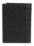 Salvatore Ferragamo Quilted Wallet - Black