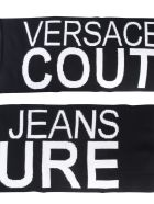 Versace Jeans Couture Scarf With Logo - NERO