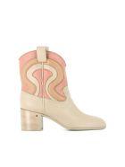 "Laurence Dacade Ankle Boots ""tiago"" - Beige"