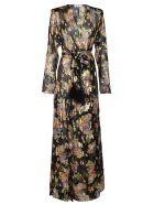 The Attico Multicolor Silk Lauren Dress - Multicolor