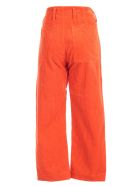 Sofie d'Hoore Pants Straight 2 Patched Pockets - Papaya