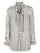 Ralph Lauren Striped Shirt - Blk/crm