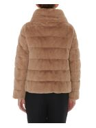 Herno Eco Fur Down Jacket - Camel