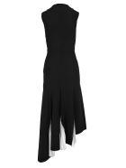 Givenchy Givenchy Long Knit Pleated Dress - BLACK