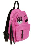 Chiara Ferragni Flirting Eye Backpack - Pink