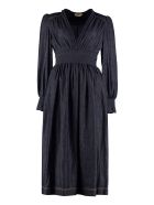 Fendi Denim Midi Dress - Denim