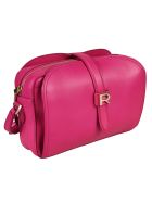 Rochas Logo Shoulder Bag - Pink