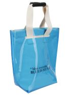 SJYP Sjyp Two Way Shopper Bag - Blu oceano