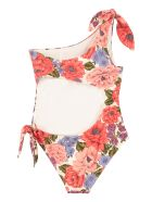 Zimmermann One-shoulder Swimsuit - Multicolor