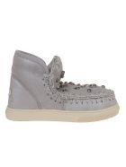 Mou Eskimo Sneakers Con Strass - Dusil Dust Silver