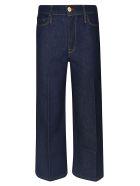 Frame Wide Leg Jeans - Blue