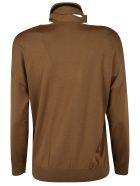 RED Valentino Tie-neck Sweater - camel