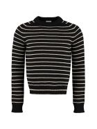 Saint Laurent Virgin Wool Sweater - black