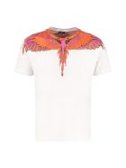 Marcelo Burlon Crew-neck Cotton T-shirt - White