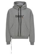 Ben Taverniti Unravel Project Unravel Fleece Boxie Hooded - Gray