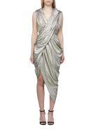 Balmain Dress - Oro argento